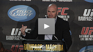Hear from the night's big winners at the UFC 123: Rampage vs. Machida post-fight press conference.