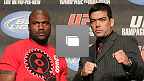 UFC&reg;123: Press Conference Photo Gallery