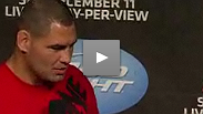 Heavyweight champ Cain Velasquez takes fan questions - and triggers a marriage proposal - in Montreal