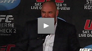 The UFC 124 post-fight presser caps a huge night of hype that lived up to the excitement. Hear from Dana White, plus St-Pierre, Struve, Jim Miller, Alves and Danzig.
