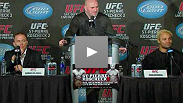 Dana White, GSP and Kos answer media questions about the upcoming UFC 124 event in Montreal.