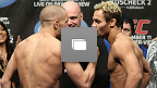 UFC®124: Weigh In Photo Gallery