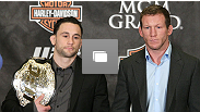 UFC 125 pre-fight press conference at MGM Grand Hotel &amp; Casino on December 29, 2010 in Las Vegas, NV. (Photos by Josh Hedges/Zuffa LLC/Zuffa LLC via Getty Images)
