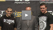 Two fast-rising UFC stars, George Sotiropoulos and Kyle Noke, talk about what it means to fight in their homeland at UFC 127.
