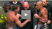 Watch the full UFC 127 weigh-in to see Brian Ebersole's interesting undergarments, the near-scuffle between Bisping and Rivera, and a classic BJ Penn intense staredown with Jon Fitch.