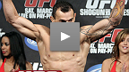 UFC 128: Gleison Tibau, intervista dopo l&#39;incontro
