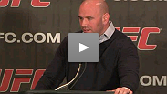 Dana White, Lorenzo Fertitta, champion Frankie Edgar, Madison Square Garden president Scott O'Neill and more announce their intentions to bring the UFC to New York.
