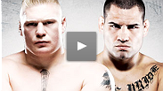The baddest man on the planet, UFC heavyweight champion Brock Lesnar, is back in the main event of UFC 121, and unbeaten Cain Velasquez is looking to take his belt and become the first Mexican-American to hold a UFC title.