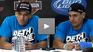 Charles Oliveira talks to the media after his big win at a short-notice fight against Efrain Escudero - find out how this 20-year-old Brazilian handles the buzz.