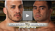 Rafael Natal makes his UFC debut versus former The Ultimate Fighter season 11 cast member, Rich Attonito.  Natal is a Brazilian Jiu-Jitsu black belt and instructor at the Gracie school in NY, but has an expansive game that goes beyond his grappling skills