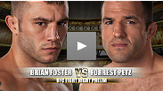 Expect Brian Foster and Forrest Petz to meet in the middle of the Octagon and trade blows until one man cannot take anymore punishment.