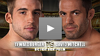 UFC&reg; Fight Night: Marquardt vs Palhares Prelim Fight - Anthony Waldburger vs.  David Mitchell