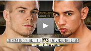 UFC Fight Night: Nogueira vs Davis Prelim: Michael McDonald vs Edwin Figueroa