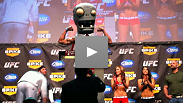To defeat a zombie, you must become a zombie: At least that's the approach Leonard Garcia is taking as he prepares to rematch with Chan Sung Jung, aka the Korean Zombie, at UFC Fight Night Live.