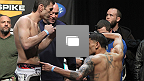 Pes&eacute;e officielle de l&#39;UFC&reg; Fight Night Nogueira vs Davis