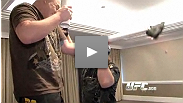 You're invited into Roy Nelson's home away from home