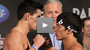See the stars of WEC: Cruz vs. Benavidez weigh in from The Palms in Las Vegas.