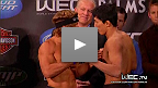 WEC 52: Faber vs. Mizugaki weigh-in