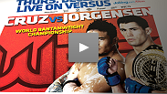 Scott Jorgensen challenges Dominick Cruz for the chance to become the very first UFC Bantamweight Champion.
