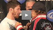 WEC® Brown and Faber at the pre-fight press conference
