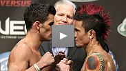 Dominick Cruz retires his WEC belt - and gains the UFC Bantamweight championship - with an impressive win over Scott Jorgensen. Hear who he'd like to fight in his first UFC title defense. Visit wec.tv to see all the night's results.