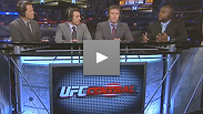 Hear UFC 133's Rashad Evans' honest opinion of GSP's performance, plus Molly Qerim talks to St-Pierre's trainer Firas Zahabi.