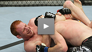 UFC 129's Mark Bocek puts on a beautiful display of jiu jitsu against Dustin Hazelett at UFC 124 in Montreal.