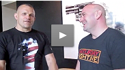 DAY 1 of Dana White's vlog for UFC 129, with fight predictions from the Iceman, around the office, and the first Strikeforce event.