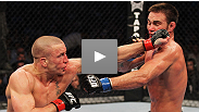 """The heart of a champion"" - hear from GSP and his trainer Firas Zahabi after a fight that sent Georges to the hospital - but not without his belt."