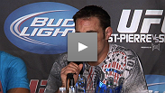 Defeated but still determined, Jake talks about what he must improve on after losing to GSP.