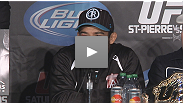 Jose Aldo kept his belt in the toughest fight of his life - hear from the featherweight star at the post-fight press conference.