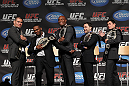 Cain Velasquez, Jon Jones, Anderson Silva, Frankie Edgar &amp; Dominick Cruz