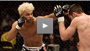 Josh Koscheck gets back inside the Octagon to take on Ohio native Dustin Hazelett at UFC® 82 in Columbus, Oh.