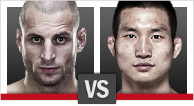 UFC Fight Night Tarec Saffiedine vs Hyun Gyu Lim