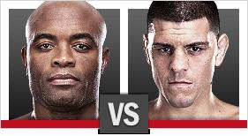 UFC 183 Silva vs. Diaz