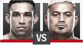 UFC 180 Werdum x Hunt