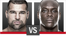 UFC Fight Night Shogun x Saint Preux