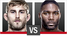 UFC Fight Night Gustafsson vs Johnson
