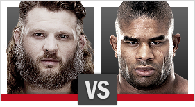 Roy Nelson vs. Alistair Overeem
