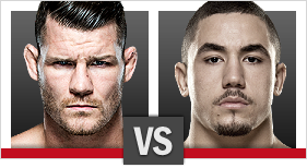 Michael Bisping vs. Robert Whittaker