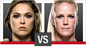 UFC 195 Rousey vs Holm