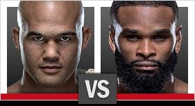 UFC 201 Lawler vs Woodley