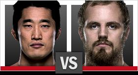 UFC Fight Night Kim vs Nelson