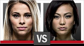 UFC Fight Night VanZant vs Waterson
