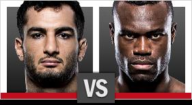 UFC Fight Night Mousasi vs Hall 2