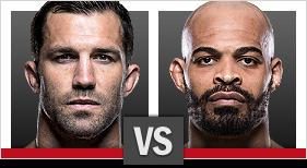 UFC Pittsburgh Rockhold x Branch