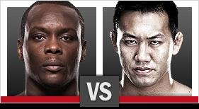 UFC Fight Night Saint Preux vs Okami