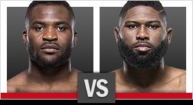 UFC Fight Night Blaydes vs Ngannou 2