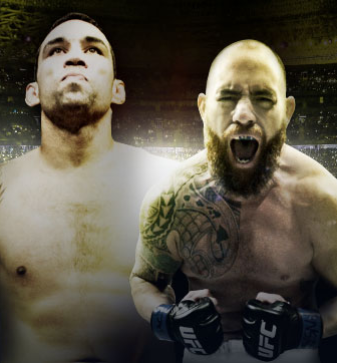 UFC Fight Night Werdum vs. Browne no Combate