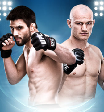 UFC on FOX Sports 1 Condit vs. Kampmann 2 Aug. 28 on FOX Sports 1